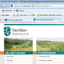 Favrskov Kommune - Previous website
